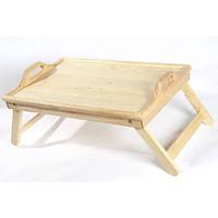 Столик для завтрака деревянный ручной работы