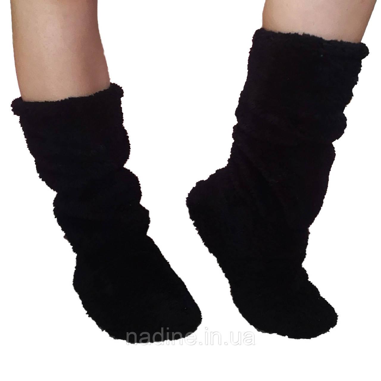 Домашні тапочки чобітки Eirena Nadine (black S-574-37) чорні 25 см
