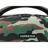 Портативная bluetooth стерео колонка спикер Hopestar H37 Камуфляж, фото 7