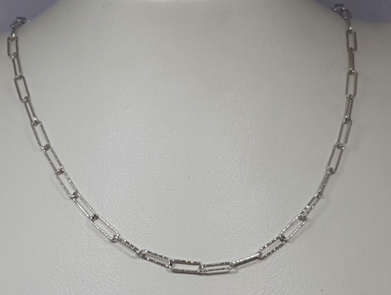 Серебряная цепочка (Якорное). Артикул 2202107 45
