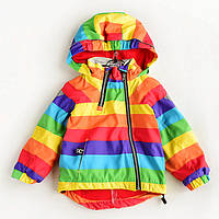 Куртка детская демисезонная Радуга Meanbear (90)