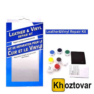 Комплект для ремонта кожи и винила Leather Vinyl Repair Kit