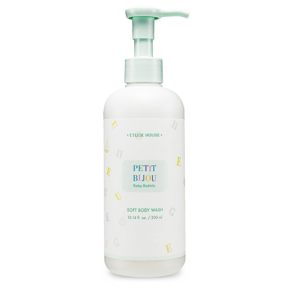 Детский увлажняющий гель для душа Etude House Petit Bijou Baby Bubble Soft Body Wash 300 мл