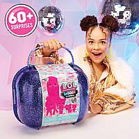 Большой чемодан Лол зимнее диско Омг LOL Winter Disco Bigger Surprise OMG 60 сюрпризовов 421627