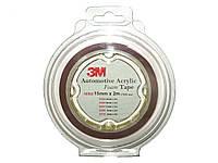 Скотч двухсторон. 3 М (32321) 12мм х2м x0.8мм 2шт/блистер (упаков.)