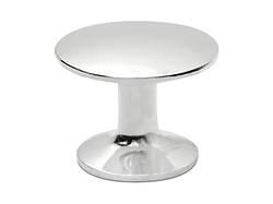 Ручка мебельная кнопка ALVA 2/005 Хром