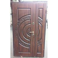 Дверь входная металлическая полуторная OPTIMA Vinorit Уличная