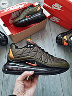 Мужские термо кроссовки Nike Air Max 720-818 (зеленые) еврозима и весенние кроссы 287TP
