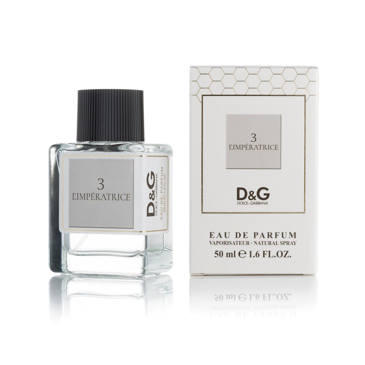 Жіночий міні-парфуми тестер D&G Anthology L ' imperatrice 3 (50мл )