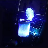 Автомобильная пепельница Type-Rсо светодиодной подсветкой 00782