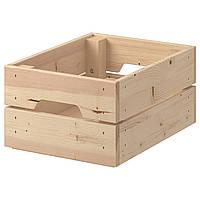 Ящик, сосна, 23x31x15 см, кнагліг IKEA 102.923.57