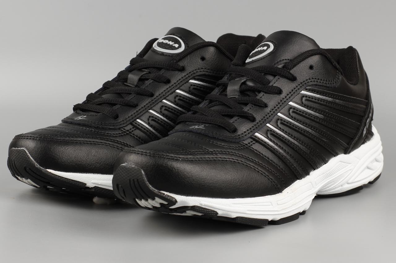 Кросівки чоловічі чорні Bona 796C Бона Розміри 43 44 45 46