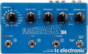 Аксессуары к музыкальным инструментам Electronic Flashback X4 Delay and Looper