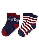 Детские носочки для мальчика (2 пары).  2-3 года