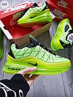 Мужские термо кроссовки Nike Air Max 720-818 (салатовые) еврозима и весенние кроссы 273TP