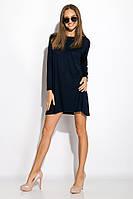 Платье-туника с круглым вырезом 317F054 (Темно-синий), фото 1
