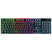 Клавиатура REAL-EL 7090 Comfort Backlit, black