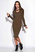Платье 120PDNK223 (Хаки), фото 1