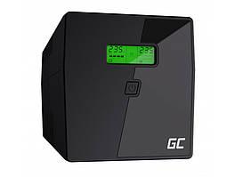 Источники бесперебойного питания (ИБП) Green Cell UPS UPS03 1000VA