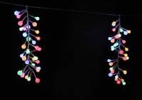 Новогодняя led-гирлянда, свечение мультиколор, 3*0.3 м, 512 светодиодов