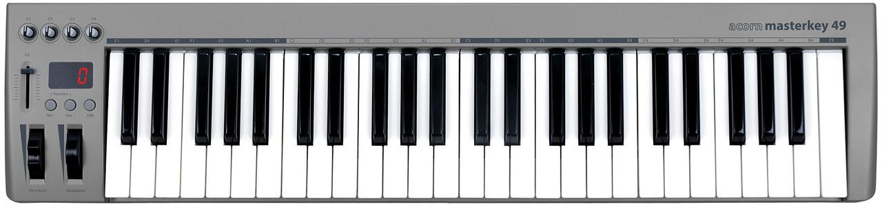 Миди-клавиатуры Acorn Instruments Masterkey 49