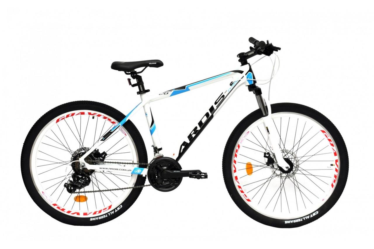 """Горный велосипед Ardis EXTREME 26"""" алюминиевый с дисковыми тормозами, Белый"""
