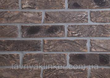 Плитка керамическая ручной формовки Графит 250х20х65