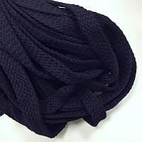Шнур для одежды без наполнителя х/б 16мм цв синий (уп 100м) Ф