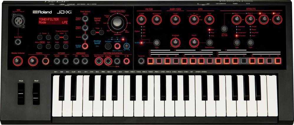 Гибридный синтезатор Roland JD-Xi