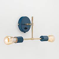 Настенный светильник Noel синий