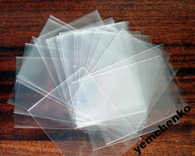 400*230 (20 мкм) - 1 упак (500 шт) пакеты под запайку для Пасхи (120 в диаметре)