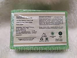 Мыло Кхади Лемонграсс, Khadi Herbal Lemongrass Soap, 125г