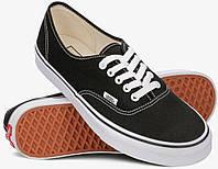 Кеды Vans Authentic Off the Wall черно-белые (низкие) 42