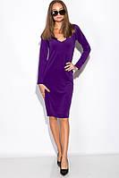 Платье 110P500-1 (Сиреневый), фото 1