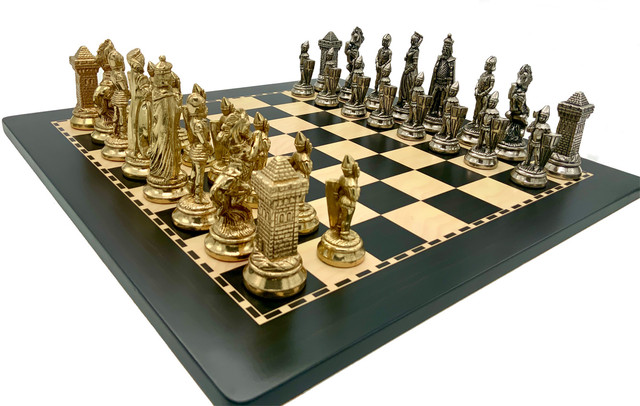 "Коллекция фигур ""Maria Stuarda"". Шахматы подарочные элитные Italfama."