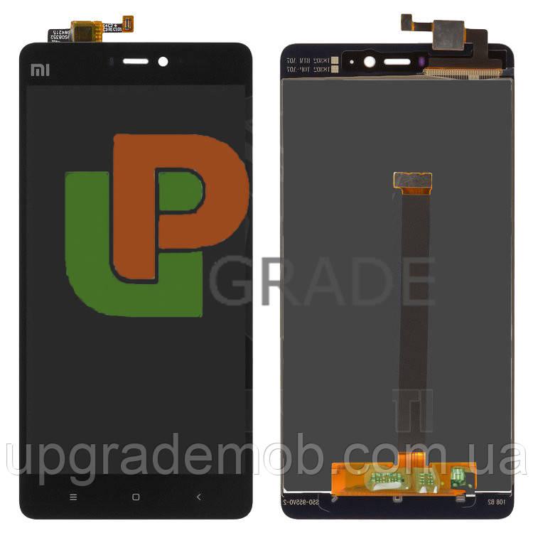 Дисплей Xiaomi Mi4s тачскрин сенсор, черный