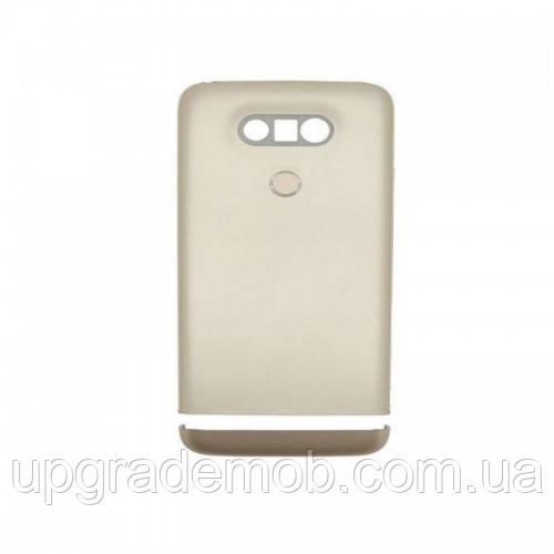 Задняя крышка LG H820 G5/H830/H840/H850/US992/VS987, золотистая, оригинал , полный комплект
