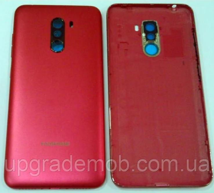 Задняя крышка Xiaomi Pocophone F1, красная, Rosso Red