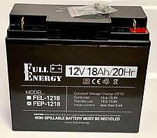 Акумулятор для ДБЖ Full Energy FEP-1218 12В / 18 Ah Повна ємність
