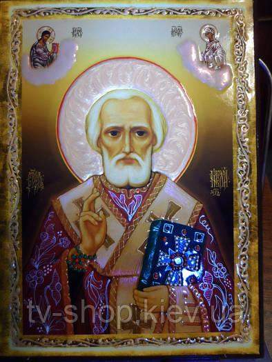 Икона Николай Чудотворец  (20 см)