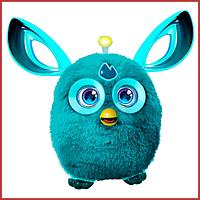 Интерактивная детская игрушка Ферби (копия) Furby Connect русскоязычная бирюзовая