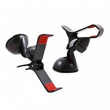 Универсальный автомобильный держатель для телефона на 1 зажим (код: 44646 )
