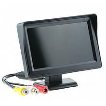 """Монитор автомобильный UKC TFT LCD 4,3"""" для двух камер (код: 45897 )"""