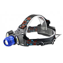 Налобный фонарь BL POLICE С862 3 диода T6 фонарик 1480 Lumen (код: 44268 )