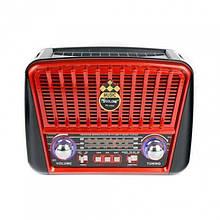 Радиоприёмник Golon RX-456S с солнечной панелью Красный (код: 46385 )