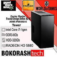 Системний Блок Fractal Design Define XL R2 \ Intel Core i7-1gen \ DDR3-8GB \ HDD-320GB (к.00100626), фото 1