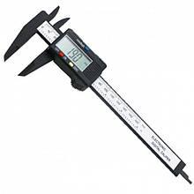 Электронный цифровой штангенциркуль микрометр с LCD дисплеем Пластмассовый (код: 47346 )