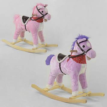 Детская качалка-лошадка Качалка-каталка для детей Качалка-лошадка для ребенка из звуковыми эффектами