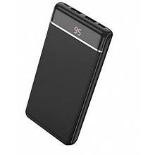 Внешний аккумулятор Power bank HOCO J59 10000 Mah батарея зарядка Чёрный (код: 47843 )