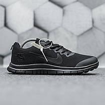 """Кроссовки Nike Free Run 3.0 """"Черные"""", фото 2"""